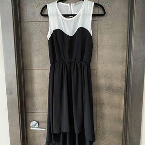 Finn & Clover Heart back Asymetrical cut out dress